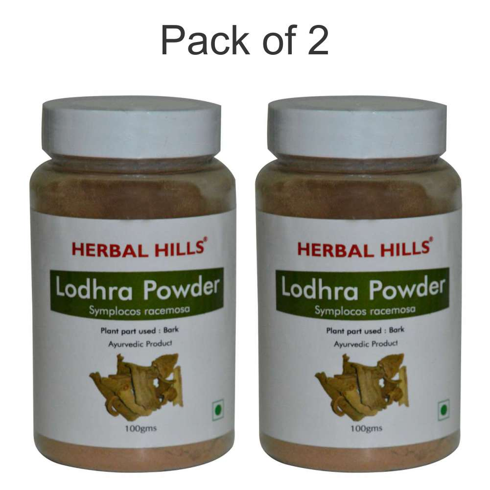 Lodhra Powder - 100 gms (Pack of 2)