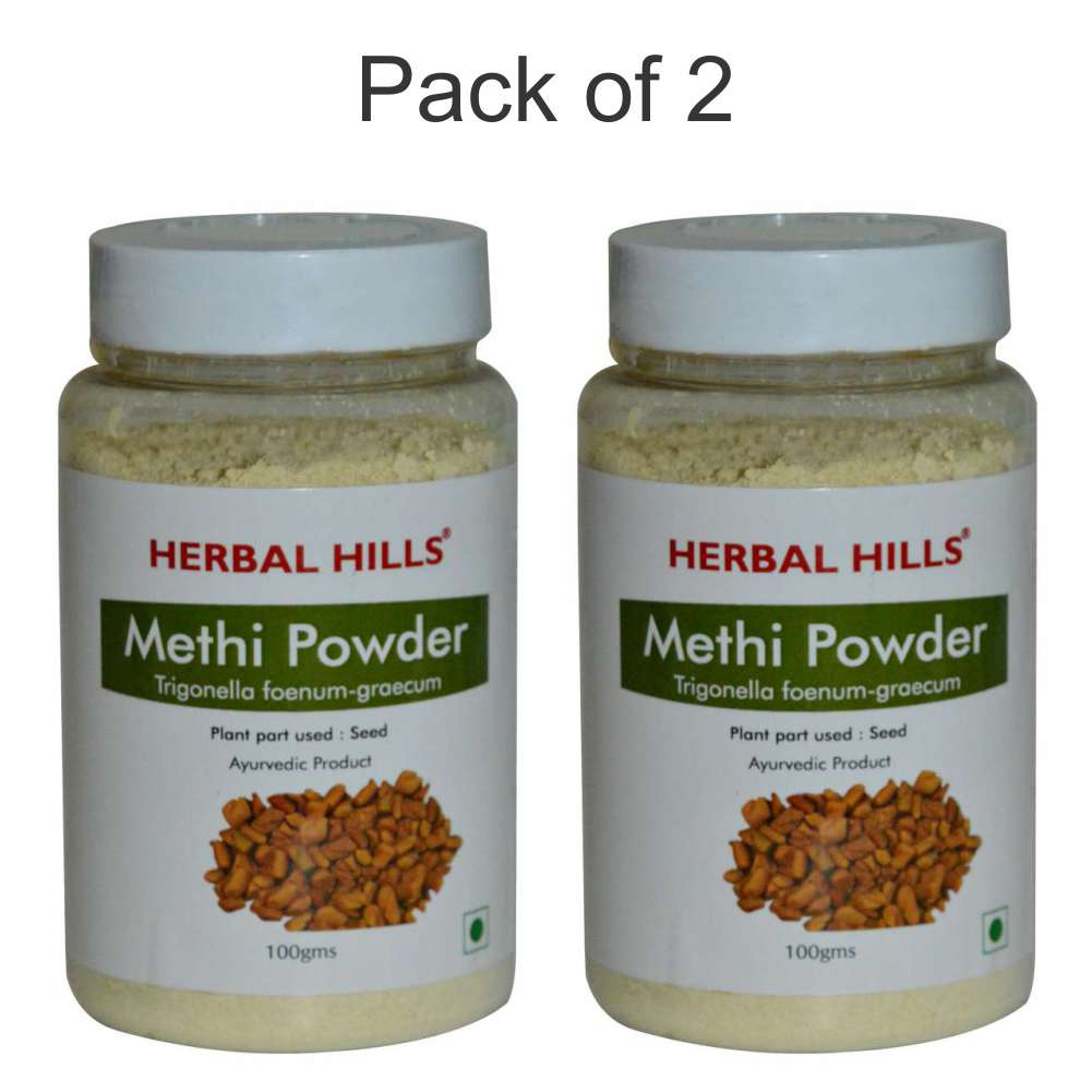 Methi Seed Powder - 100 gms (Pack of 2)