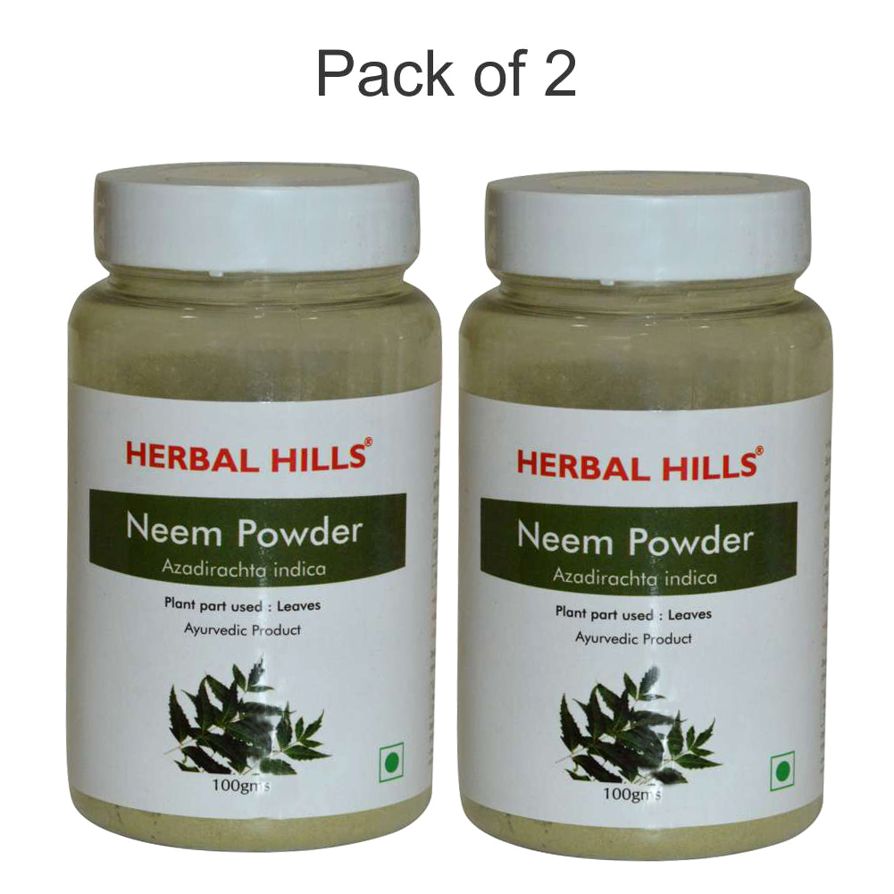Neem patra powder - 100 gms (Pack of 2)