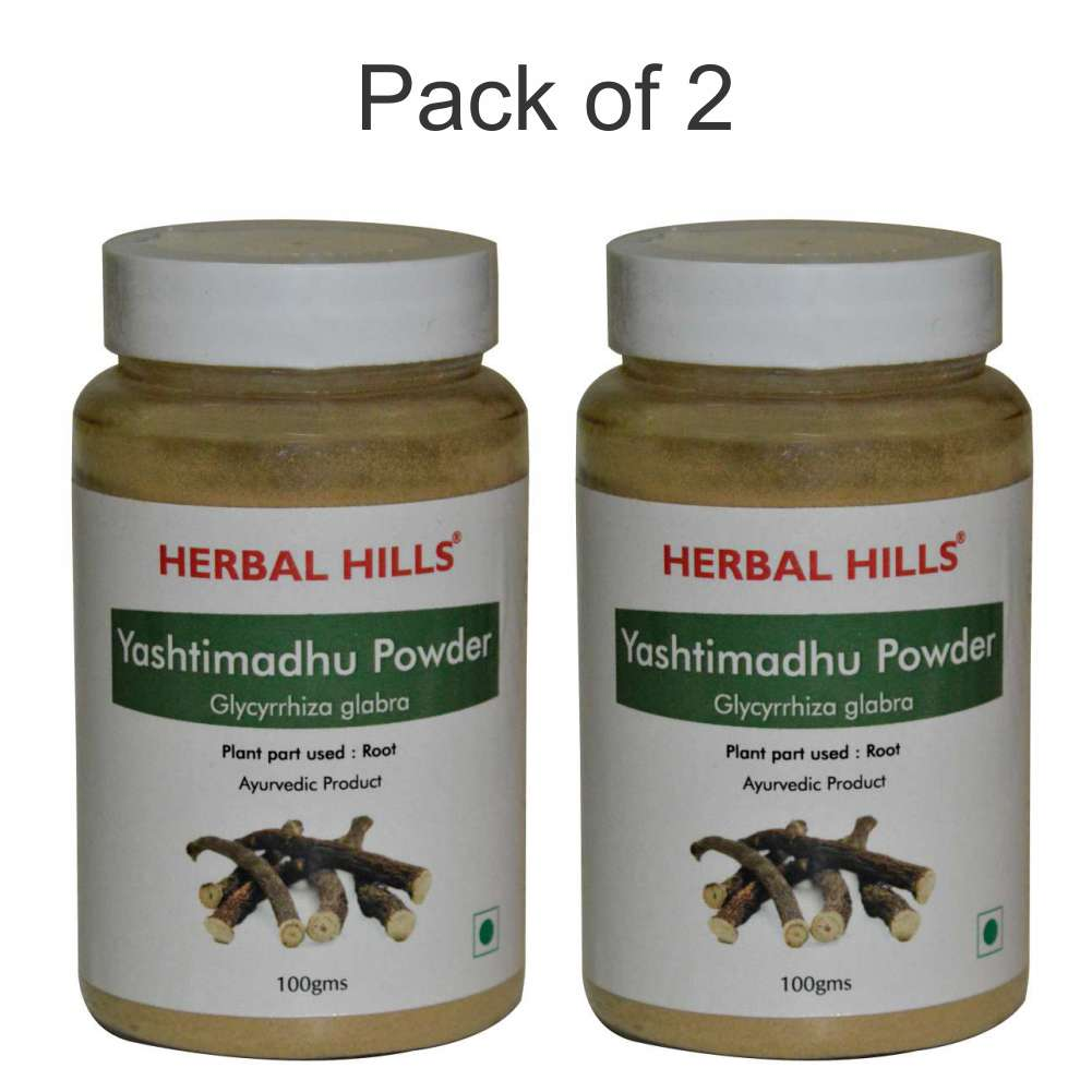 Yashtimadhu Powder - 100 gms (Pack of 2)